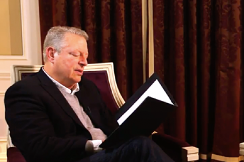Al Gore Does His Best Ralph Waldo Emerson - Poetry on Nautilus